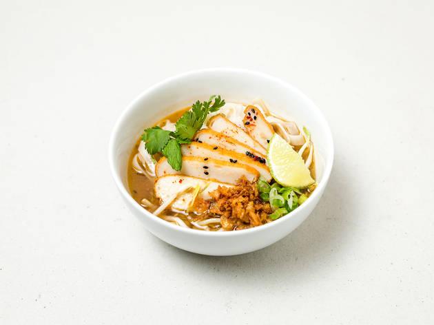 Restaurante, Asian Lab, Time Out Market, Sopa de Peixe