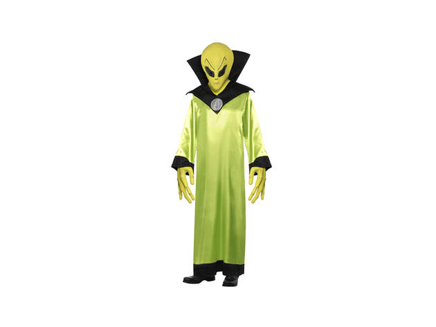 Halloween, Disfarces, Disfarces Adulto Halloween, Green Alien