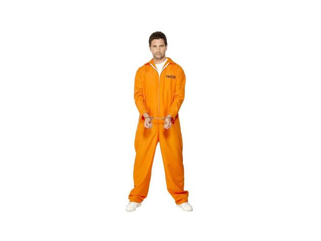 Halloween, Disfarces, Disfarces Adulto Halloween, Prisioneiro