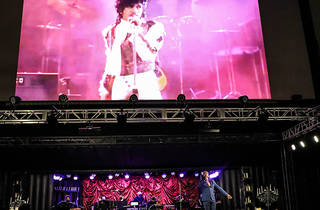 Aaron Marcellus in Purple Rain at Radial Park