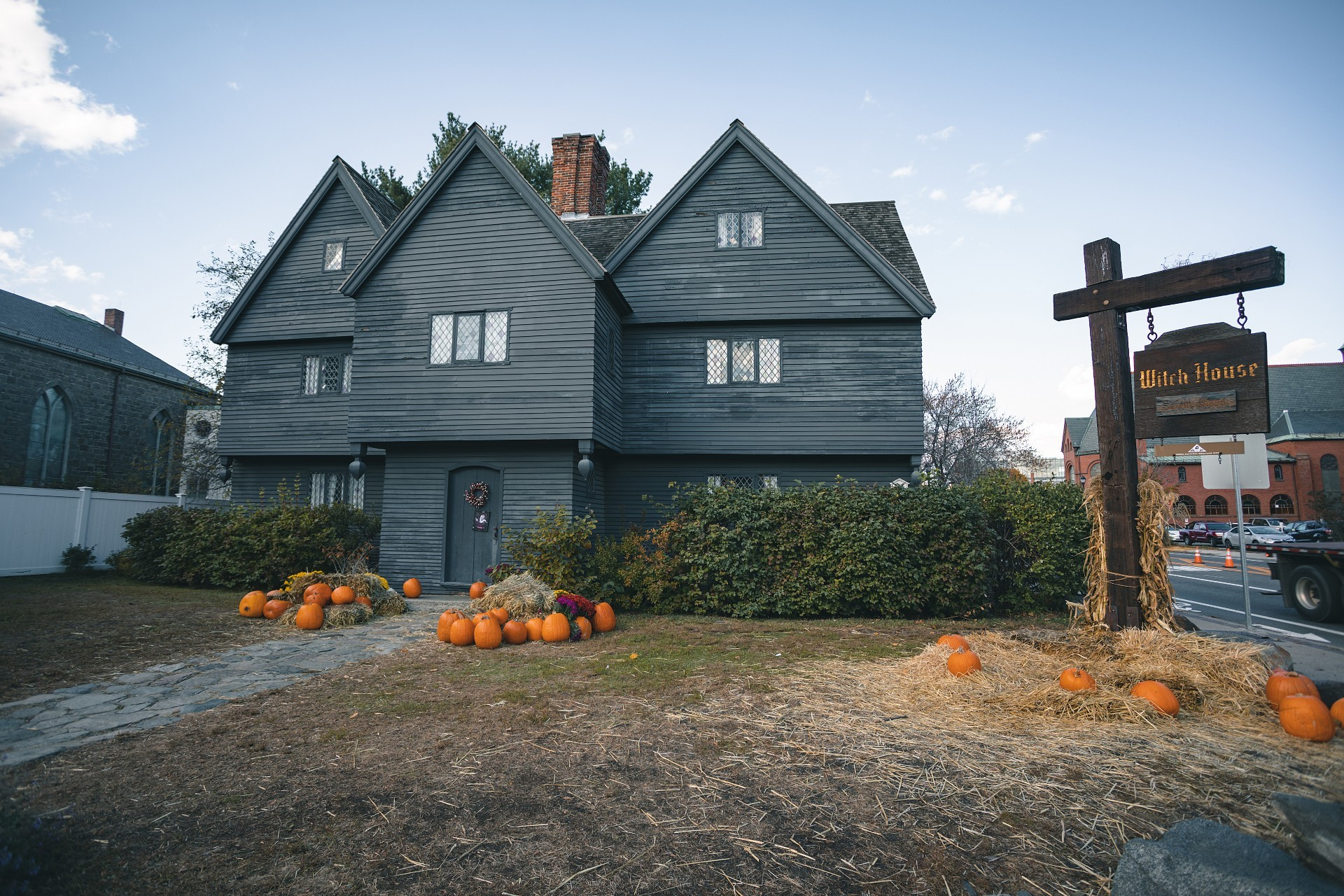 Salem, Mass Witch House