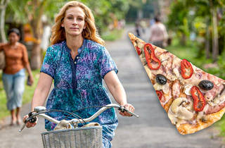 Eat Pray Love and pizza