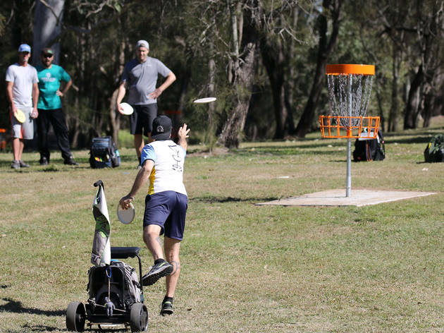 Cadogan Street Park Disc Golf Course