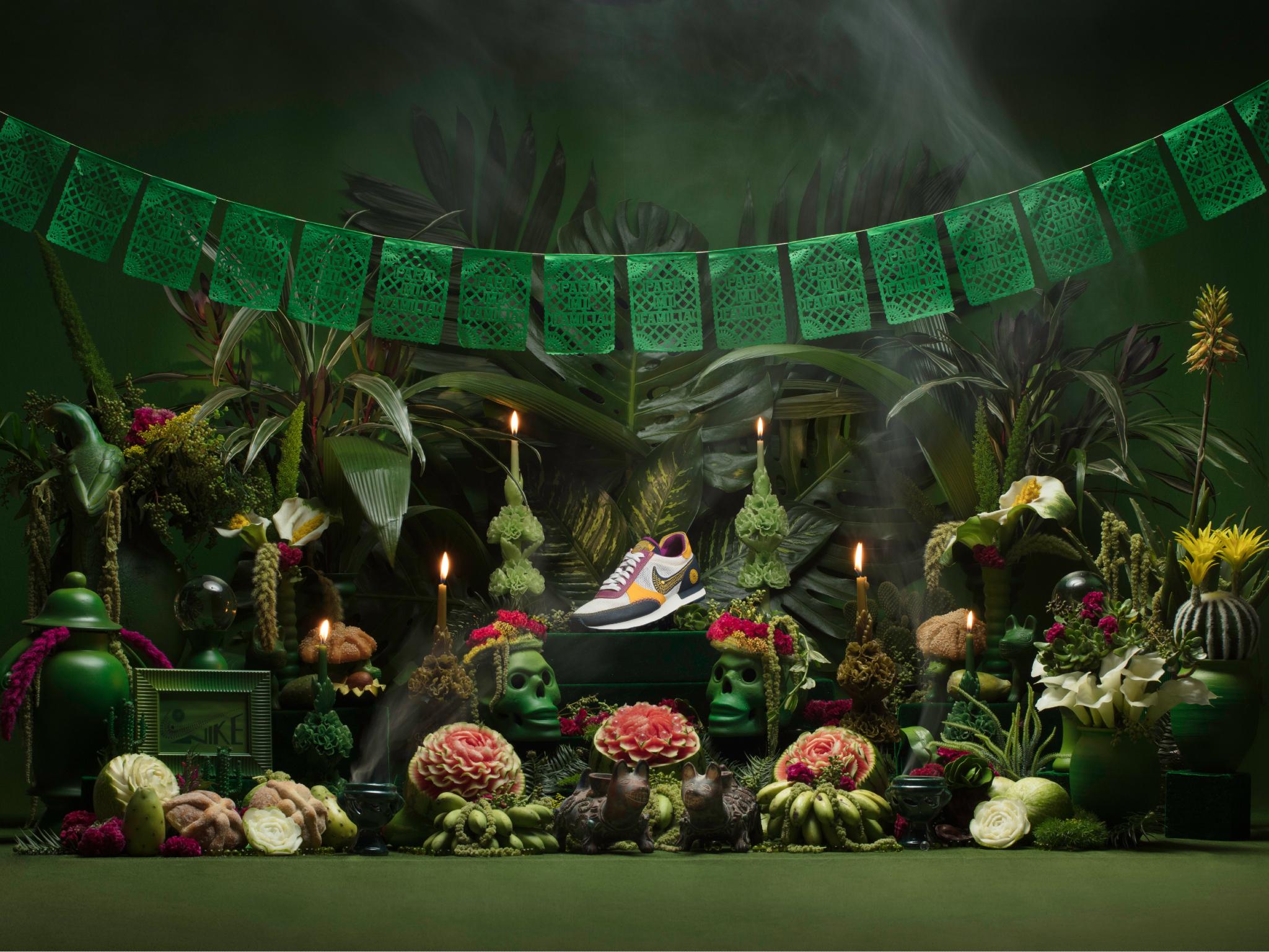 Nike presenta su nueva colección de Día de Muertos