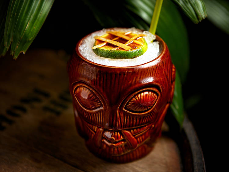 Honi Honi Haunted Tiki Island