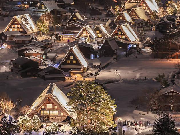 Shirakawago Winter Light-Up