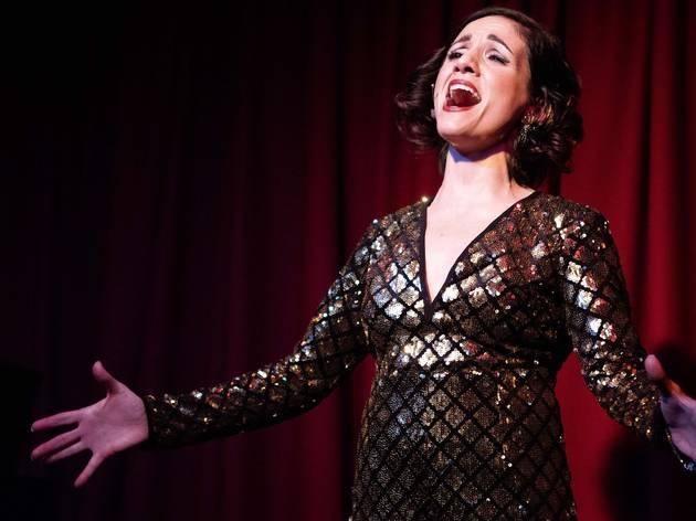 Cabaret performer Michaela Burger