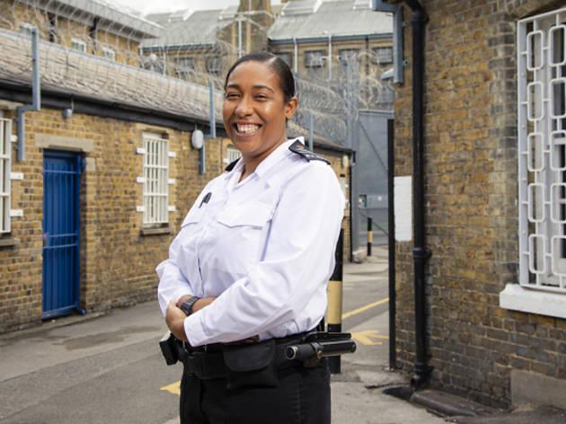 prison guard, brixton prison