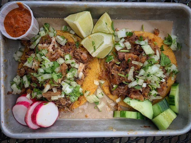 Taqueria El Barrio has a new home at the Market