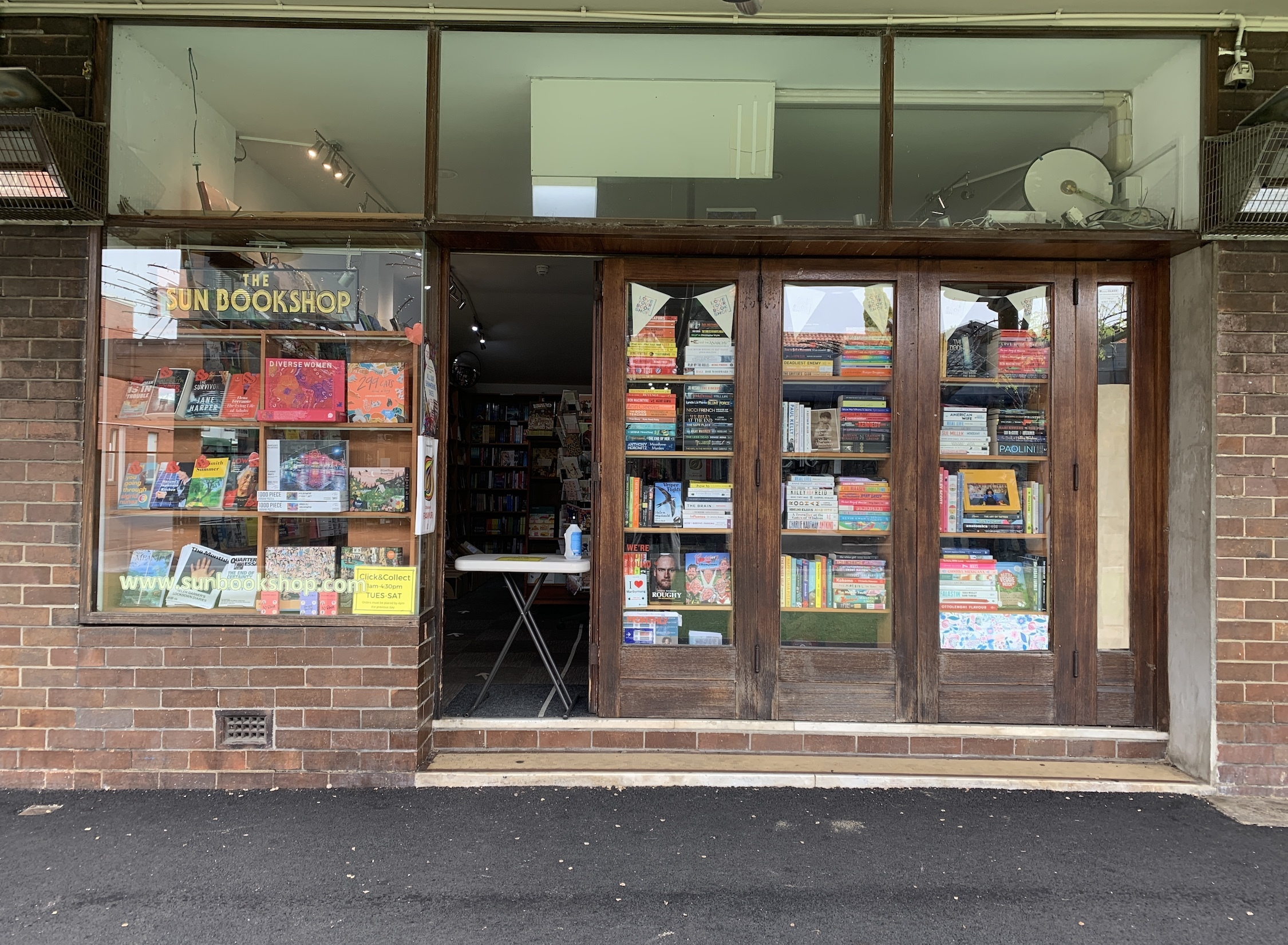 Sun Bookshop Yarraville