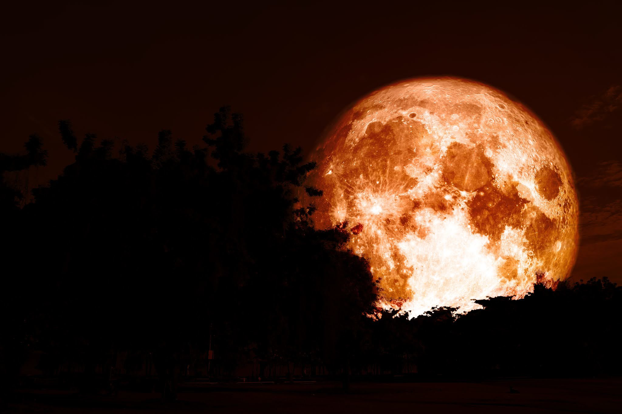A rare Hunter's Blue Moon is making an appearance this Halloween