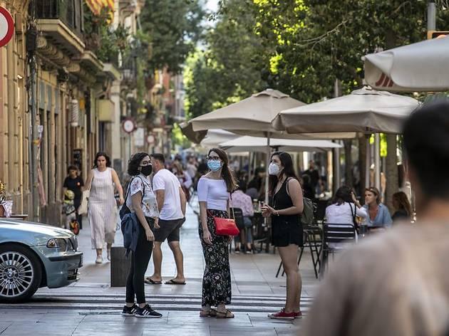 Barcelona registra un 55% més de contagis que la setmana passada