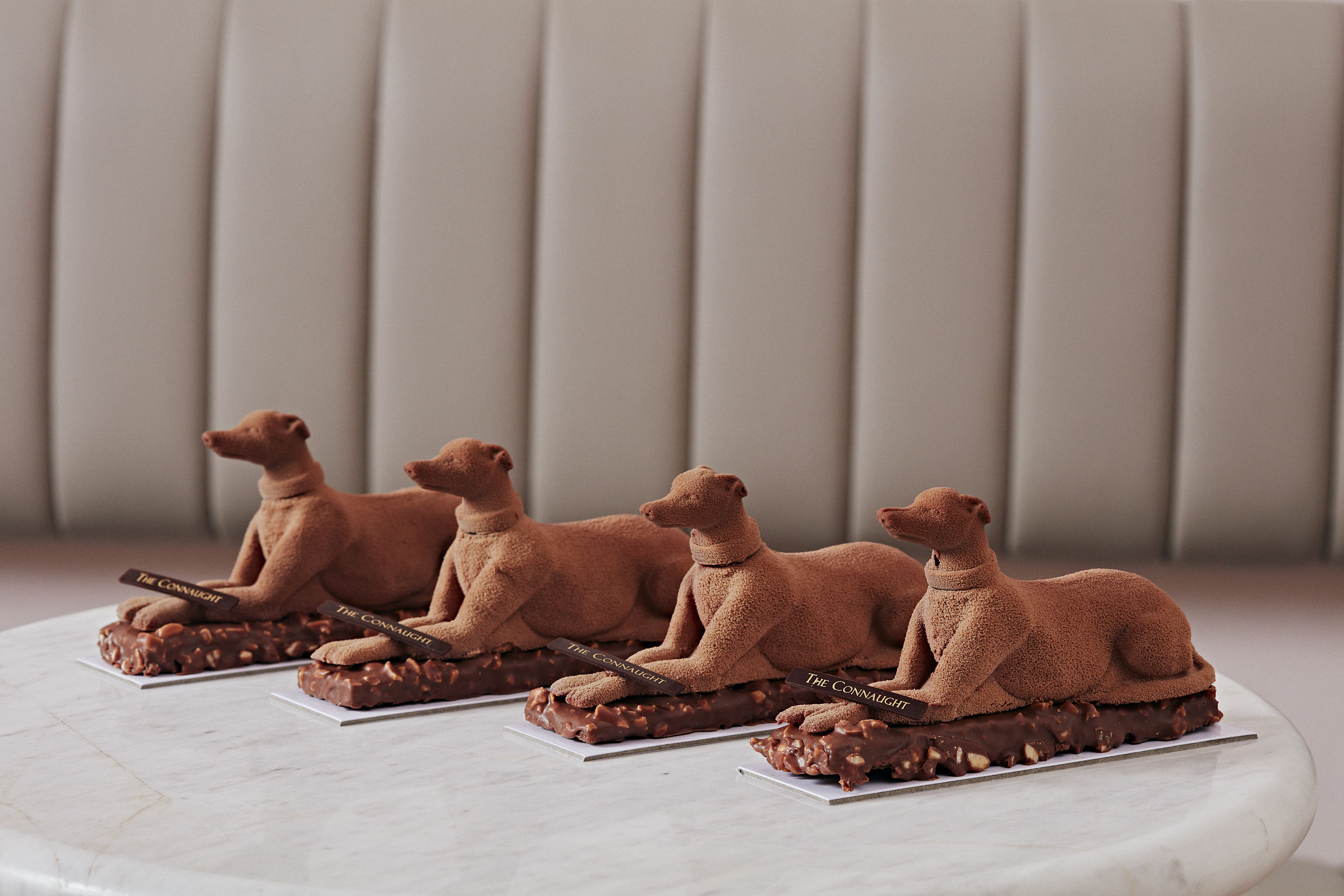 Woof down a chocolate dog at Mayfair's newest patisserie