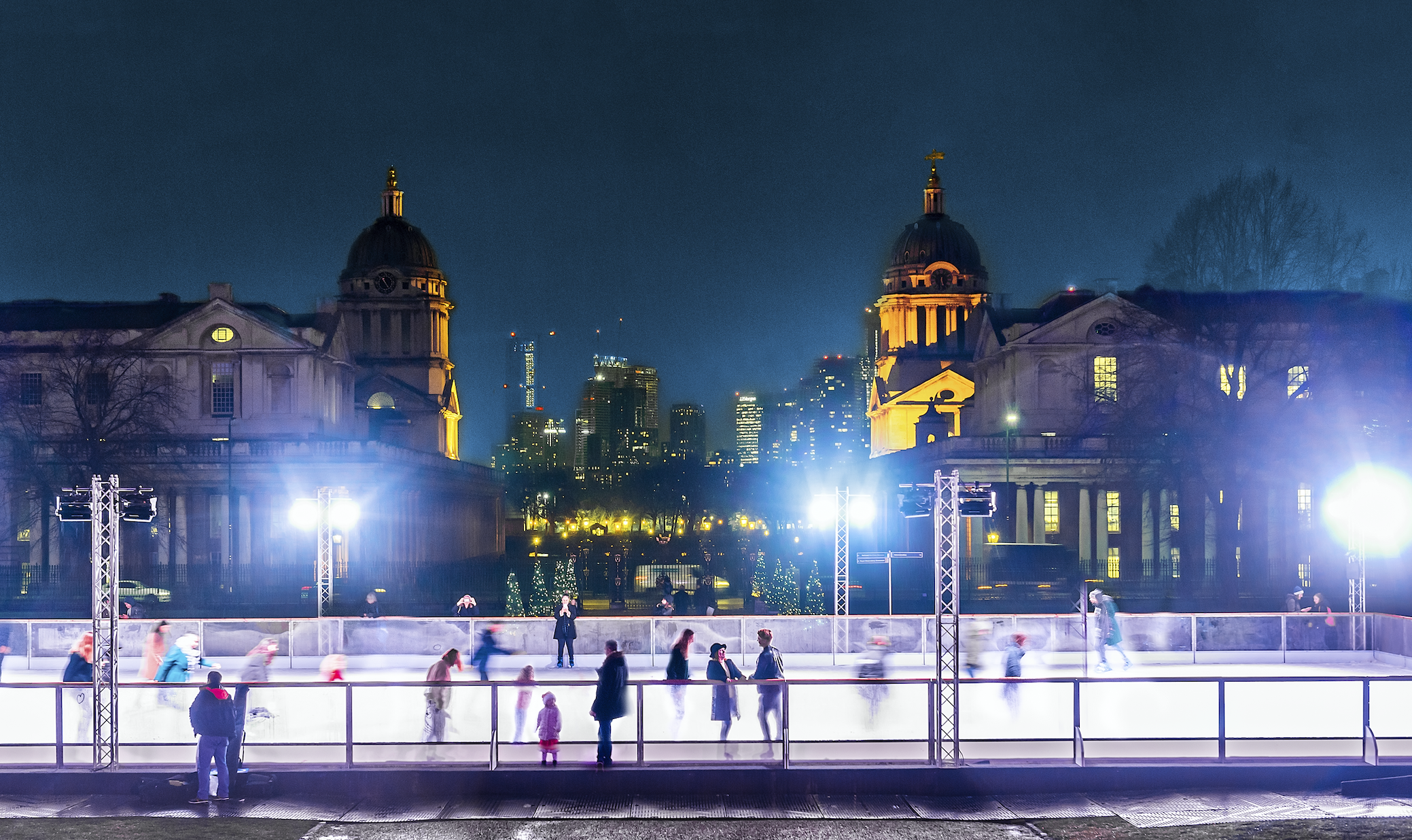 The Queen's House Ice Rink
