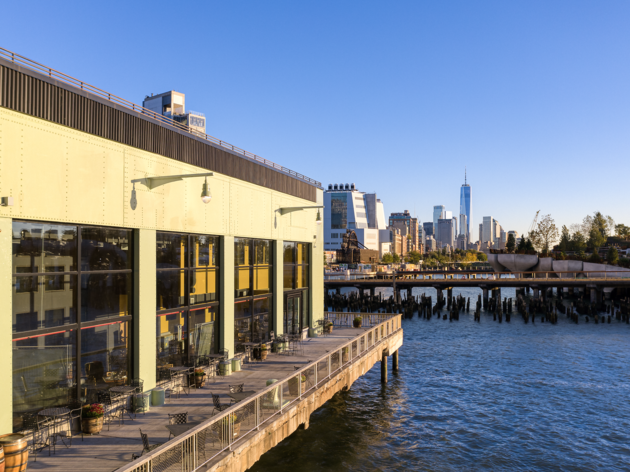 NYC's largest wine bar opens this week on the Hudson River at Pier 57