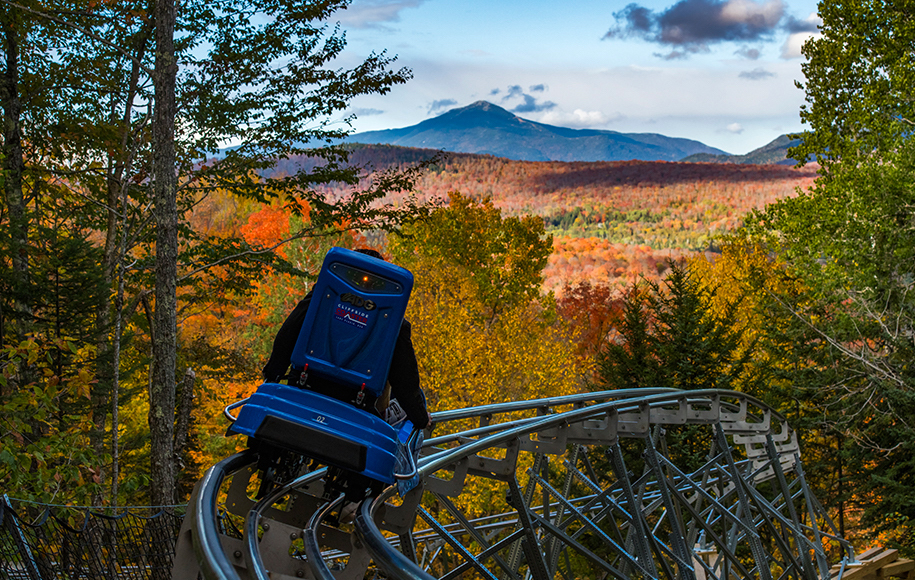 The longest outdoor mountain coaster in the country just opened in Upstate New York