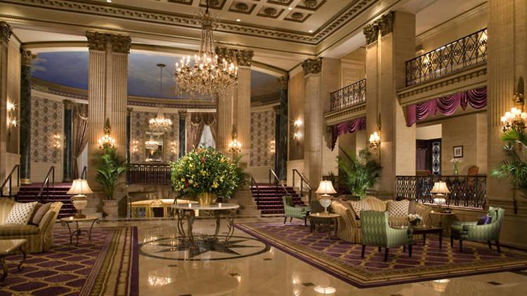 Roosevelt Hotel lobby