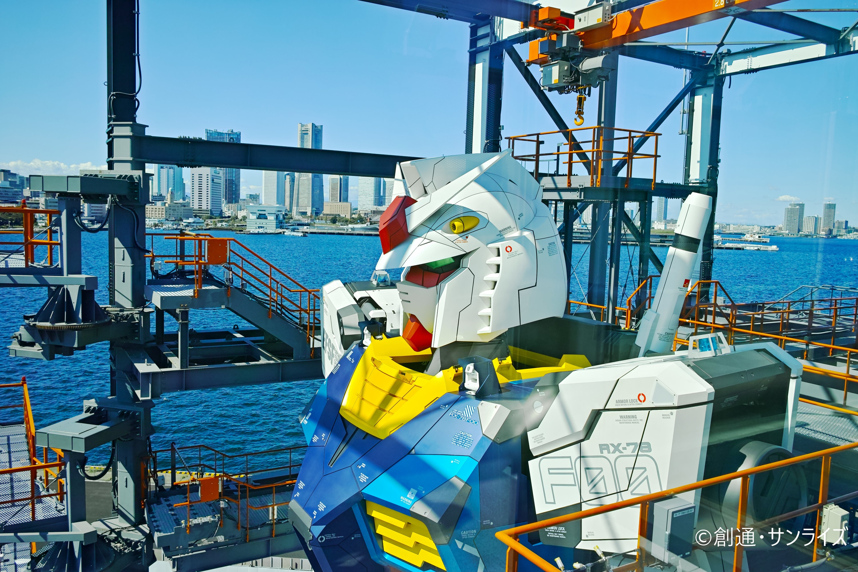 Gundam Factory Yokohama is finally opening on December 19