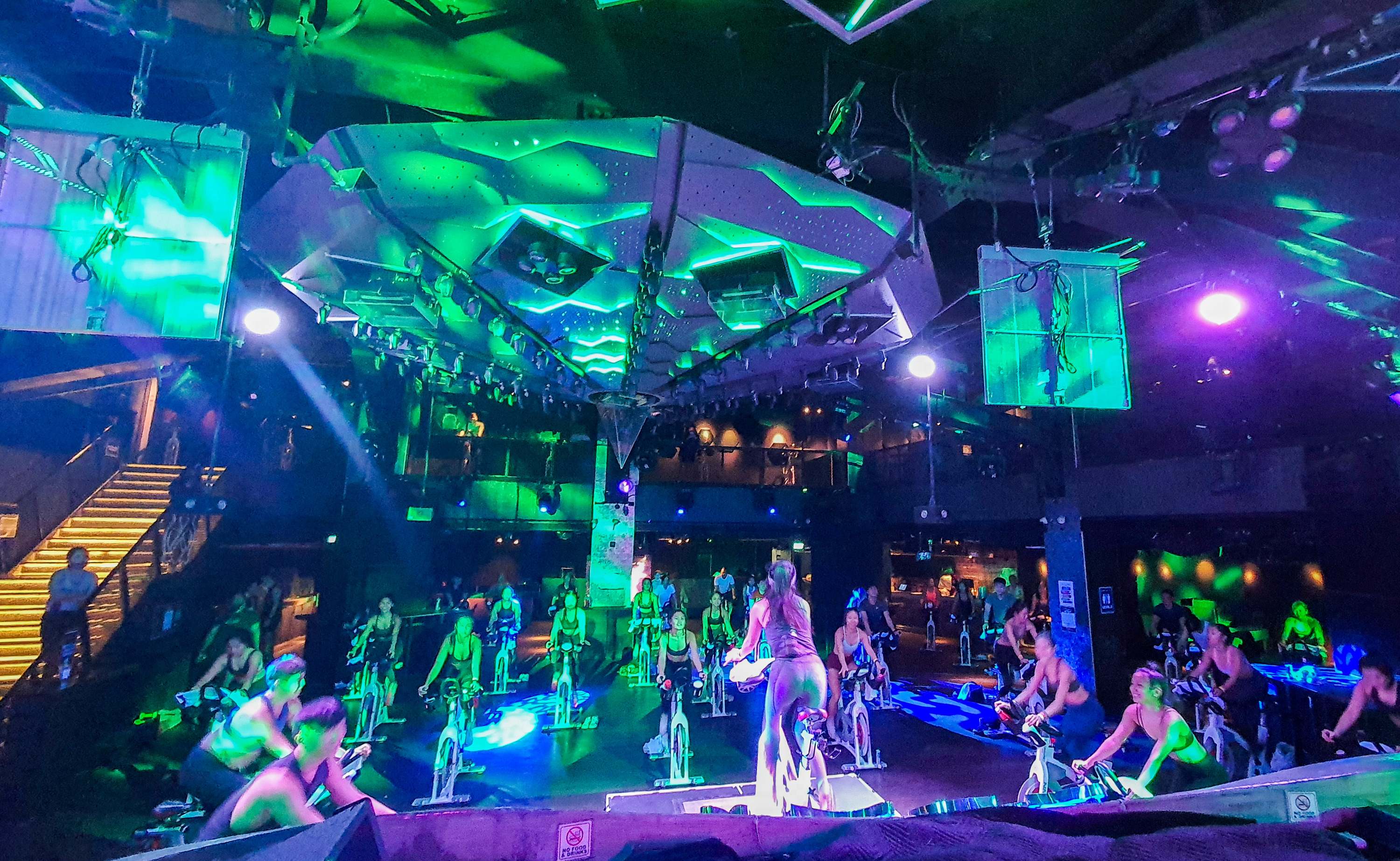 Nightclub Zouk is now a spinning studio by day, and cinema by night