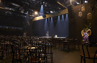 2019 Adelaide Cabaret Festivalstage set up