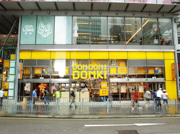 Don Don Donki officially opens in Central today