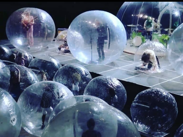Brace yourselves for the arrival of bubble concerts