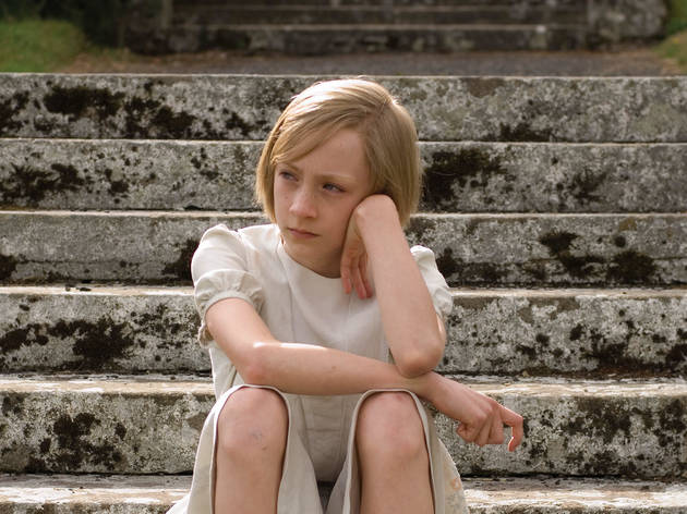 Saoirse Ronan, who stars as Briony (aged 13), in the film adaptation of Ian McEwan's Atonement.