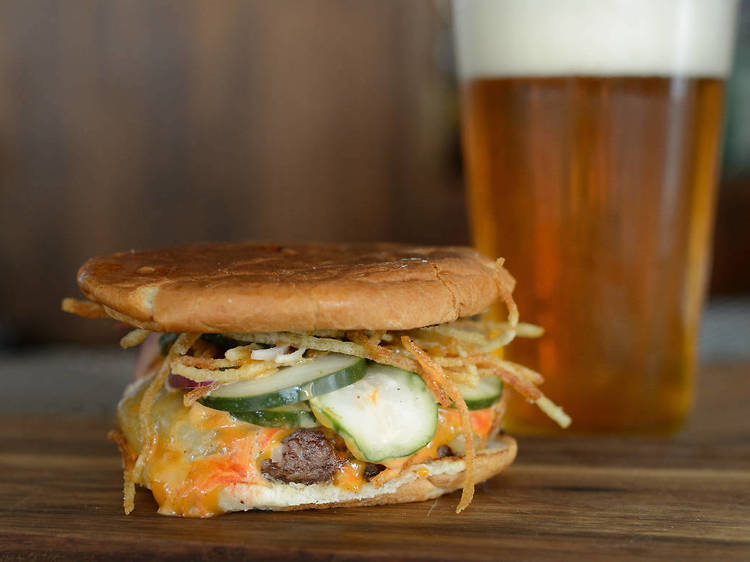 Bar Sardine Burger at Fairfax