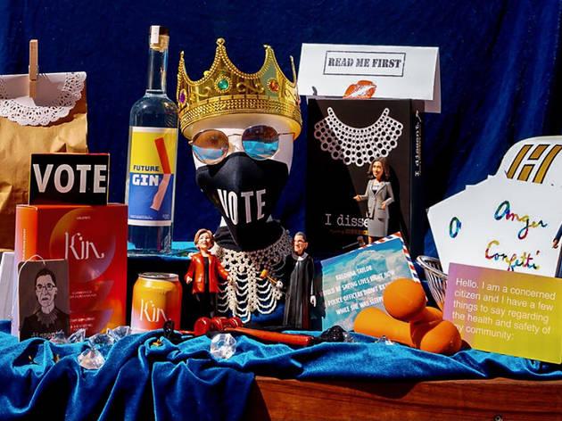 Of the Night Disco Dining Club RBG Election Night kit