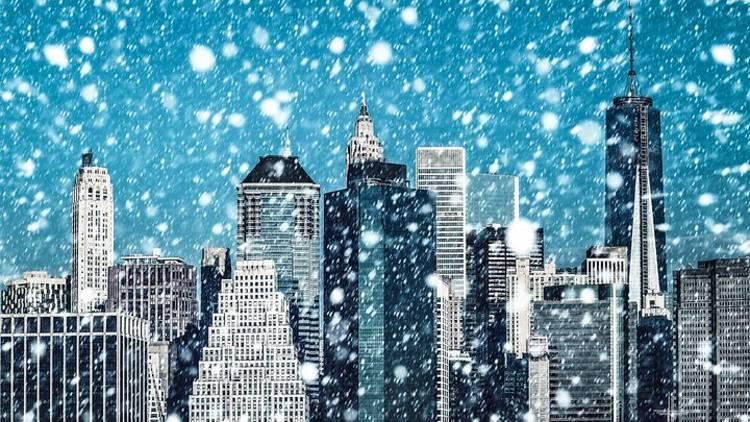 nyc, snow, new york