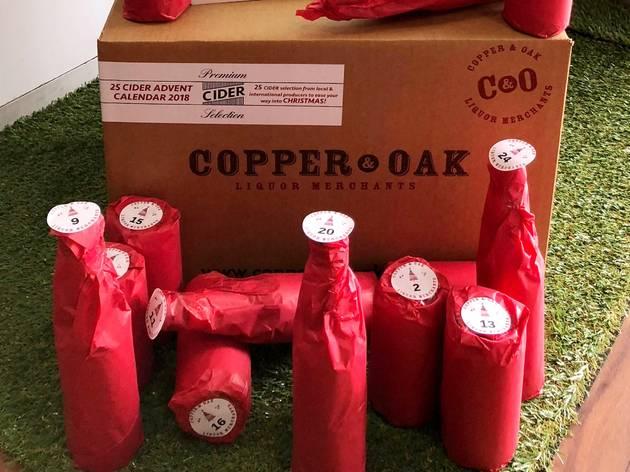 Copper and Oak Cider advent calendar