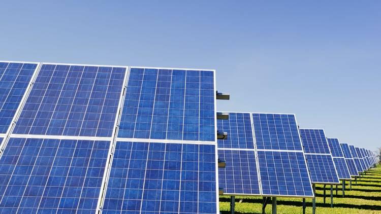 Generic solar farm