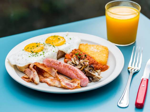 Feather & Bone Full English Breakfast