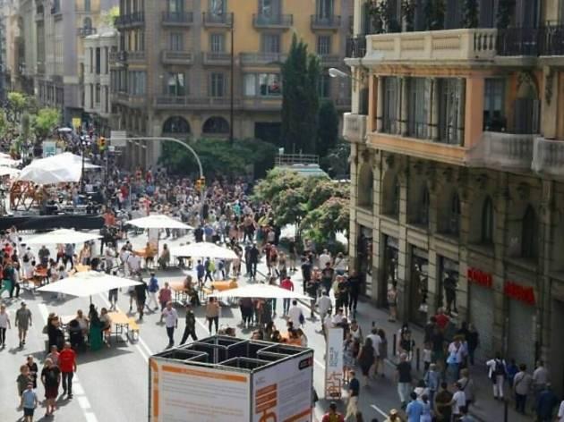 El programa 'Obrim carrers' es reprèn a Barcelona