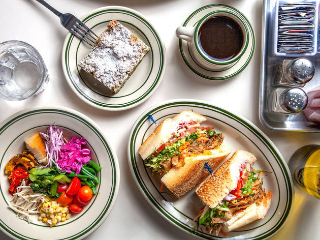 Golden Diner, brunch, new york city, nyc