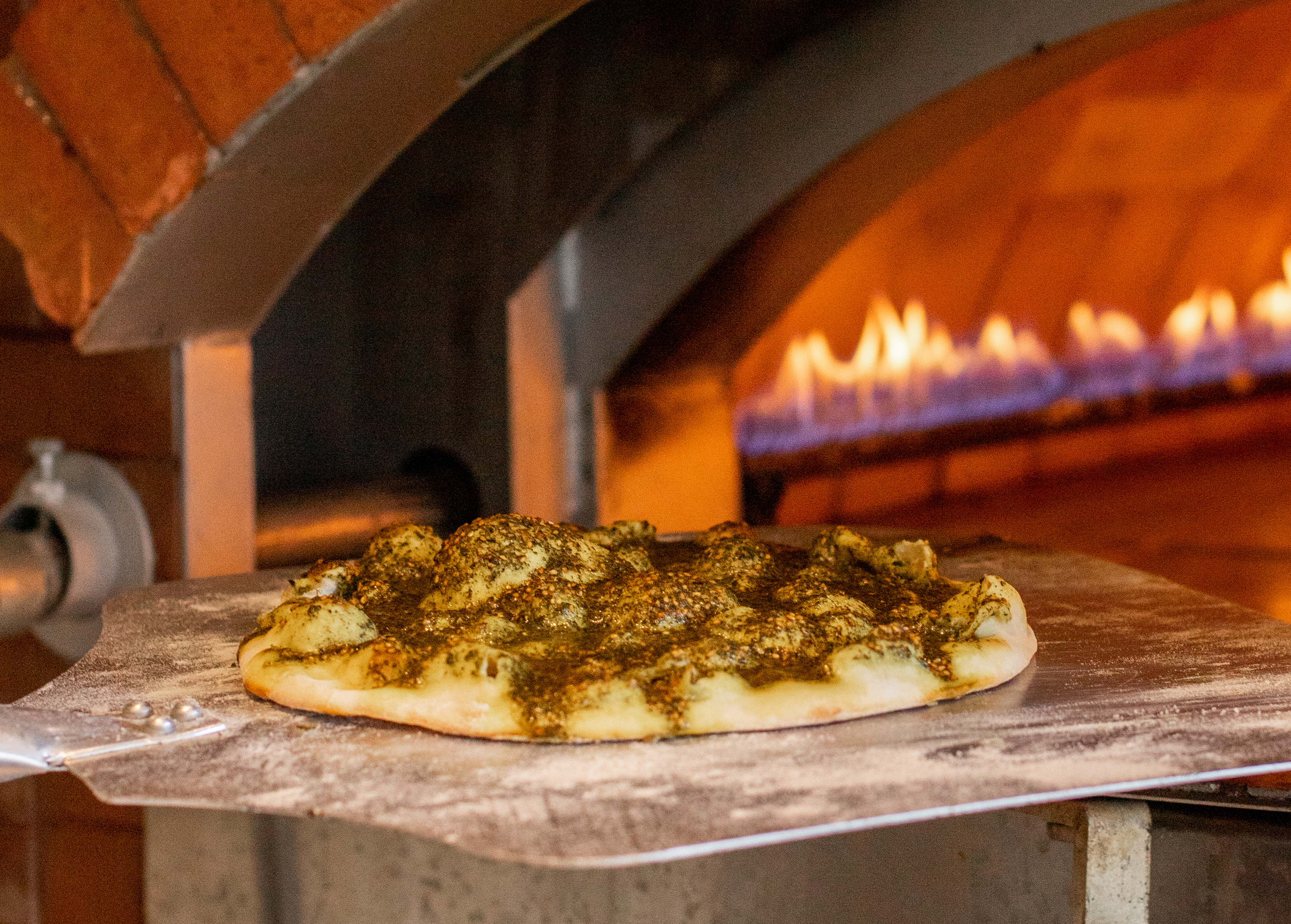 The Plateau's New Lebanese Café Chez Téta is Firing Up Manakish in an Imported 1.5-Ton Oven