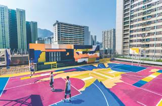 H.A.N.D.S basketball court
