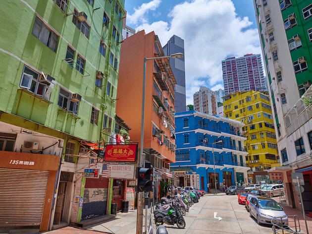 The Blue House Cluster Wan Chai