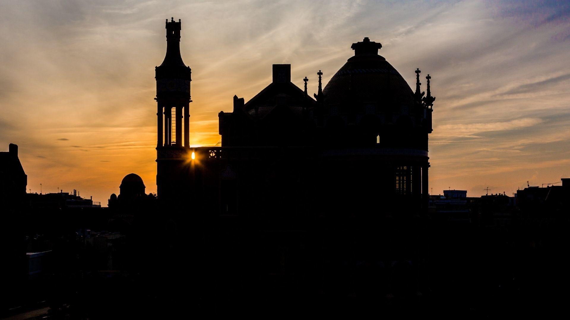 Posta de sol a Sant Pau