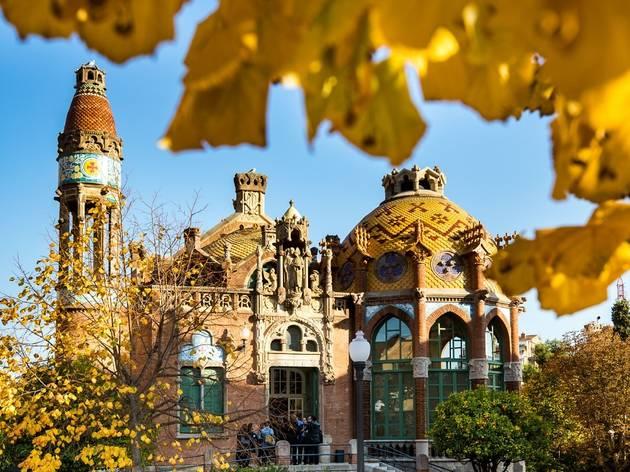 (Re)Descobriu el Recinte Modernista de Sant Pau amb les visites guiades de tardor