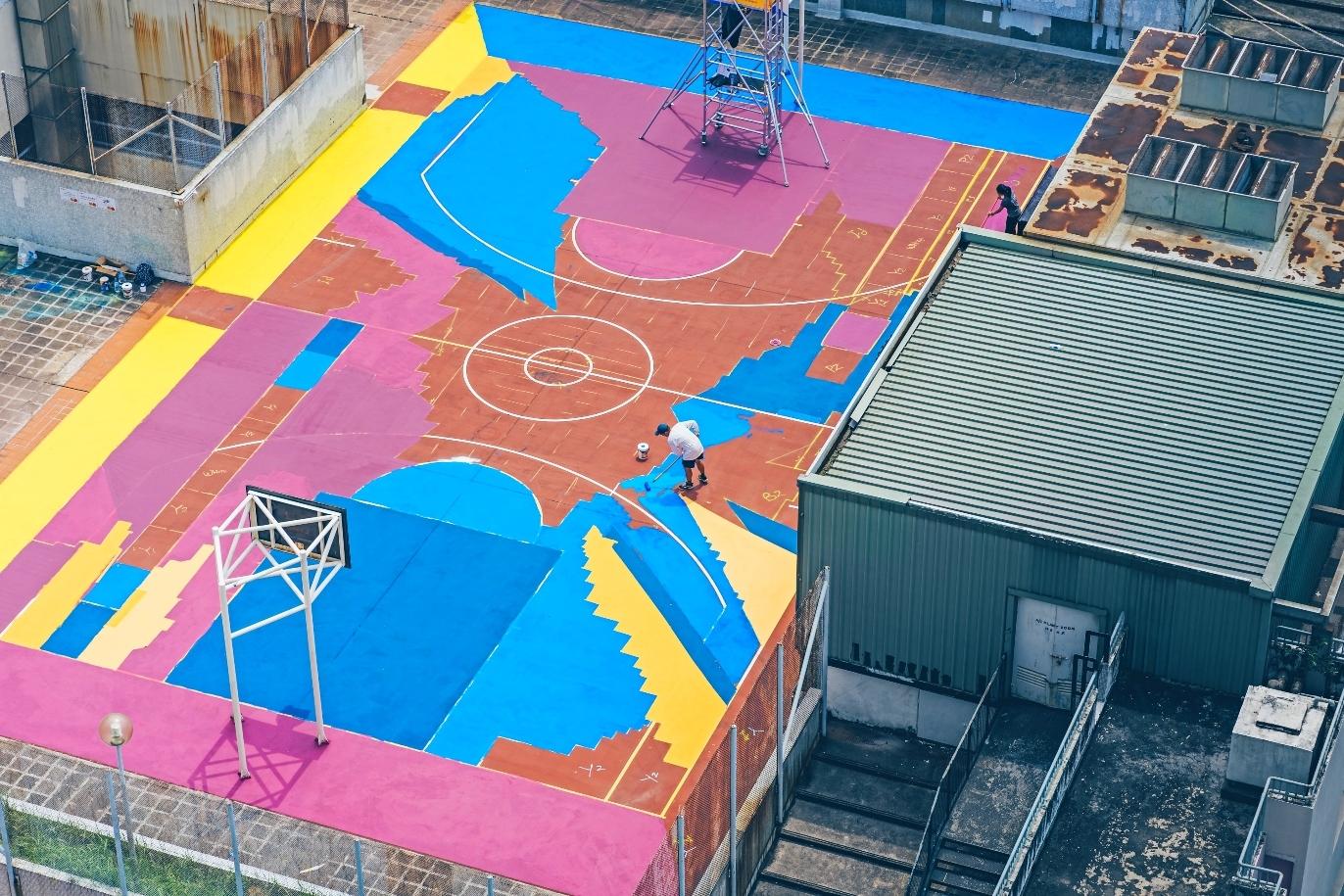 H.A.N.D.S basketball court tuen mun
