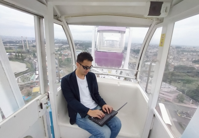 Yomiuriland amusement park's workcation deal lets you work from a Ferris wheel or by the pool
