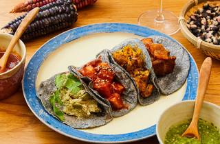 Los Tacos Azules