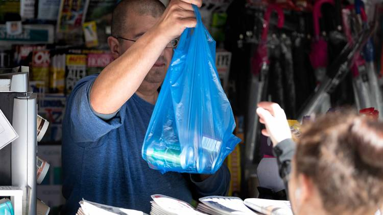 Plastic bags nyc