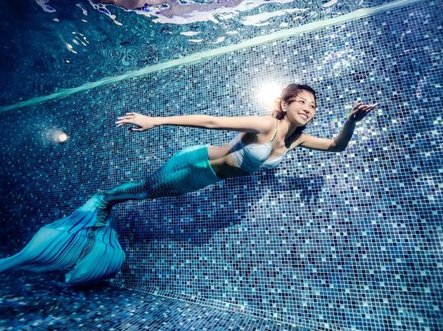 The Mira Hong Kong Mermaid Dance