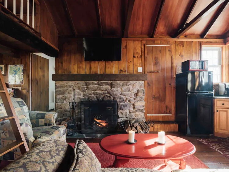 Andover, NJ | Little red cabin