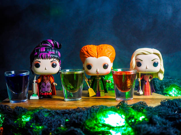 Hocus Pocus pop-up bar