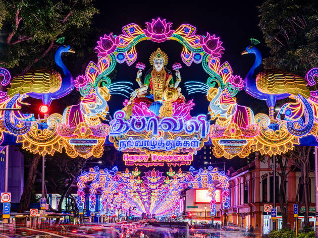 Little India Deepavali Light-Up 2020