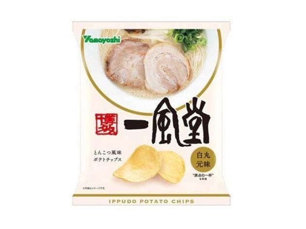 Ippudo now offers tonkotsu ramen-flavoured potato chips