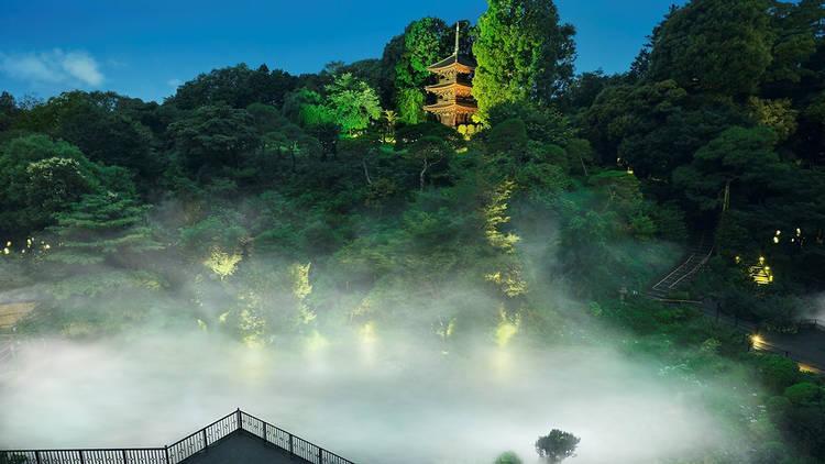 Hotel Chinzanso's Japanese garden